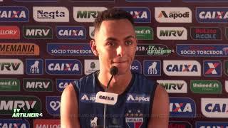 [Série B '18] Coletiva Dodô   Pré-jogo Oeste FC/SP X Fortaleza EC   TV ARTILHEIR⚽