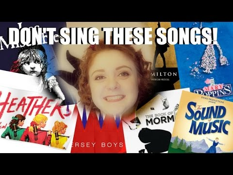10 AUDITION SONGS TO AVOID! Amy Lovatt