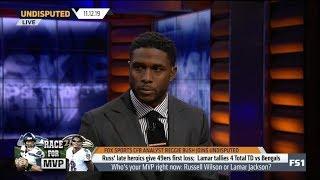 Reggie Bush [ANALYST] Russ' late heroics give 49ers first loos; Lamar tallies 4 TD vs Bengals