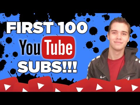 how to get your first subscribers on youtube
