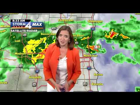 Meteorologist Jesse Ritka's Saturday morning Storm Team 4cast