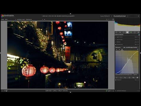 Darktable 2.7.0 - Verwendung des Tiefpassfilters zur Wiederherstellung von Schatten thumbnail