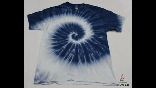 How To Make A Single Color Spiral Tie Dye