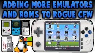 New PocketGo 2! Adding Emulators & ROMS! Rogue CFW!