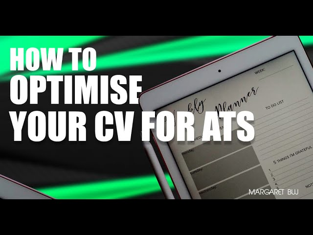 How to Optimise Your CV for ATS