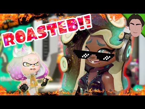 Marina ROASTS Pearl!!! Splatoon 2 Splatfest Demo