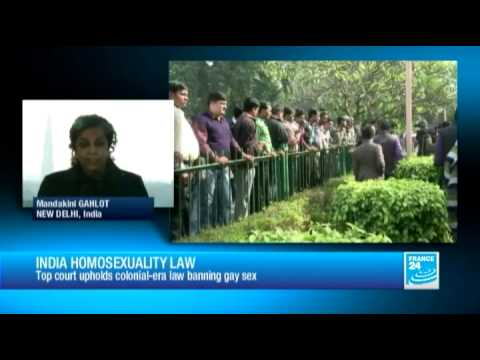 Indian Supreme Court upholds homosexuality ban