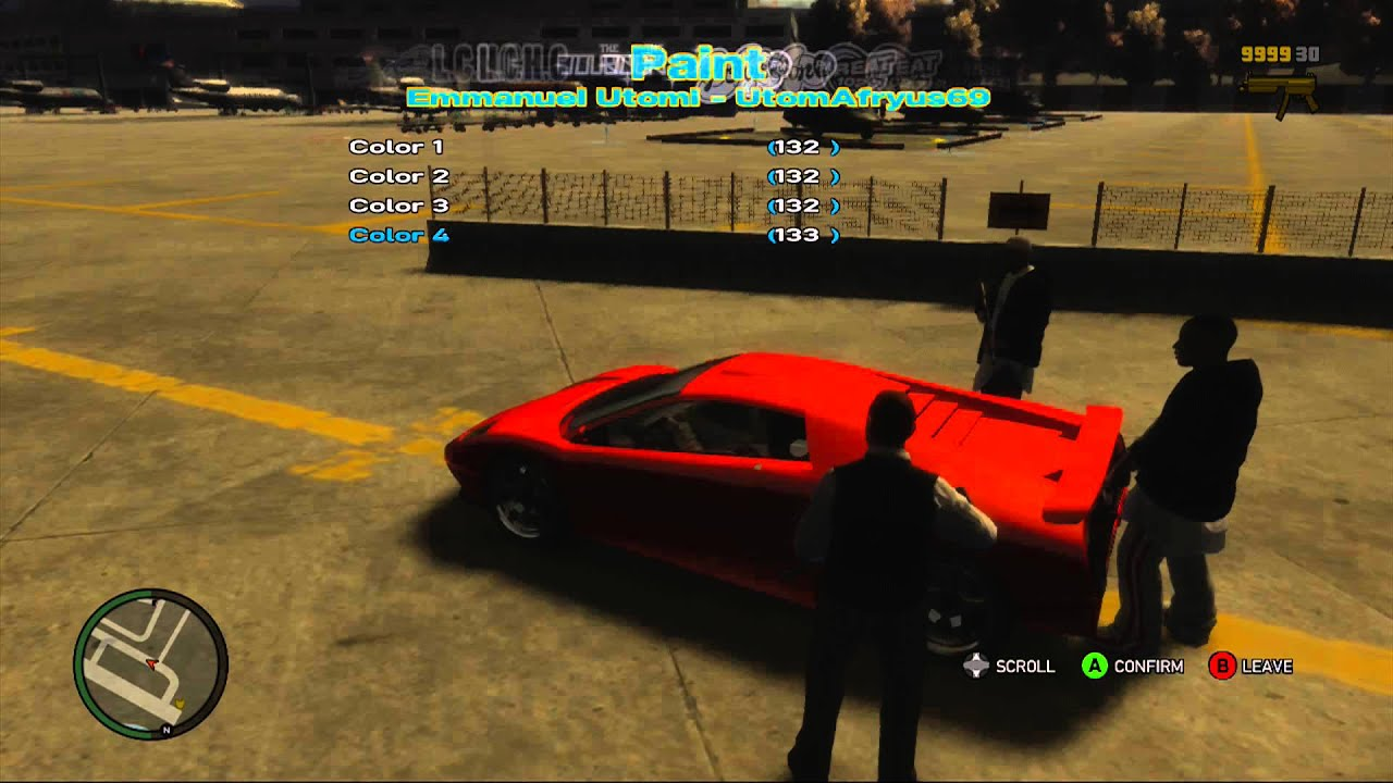 Grand Theft Auto IV Mods (Xbox 360) - YouTube