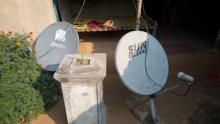 Abs Free Dish and DD Free Dish in One Set-Top Box Installation in Bengali