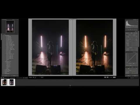 Editing Concert Photos in Lightroom