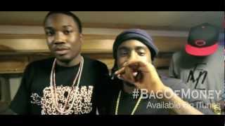"MEEK MILL, WALE & FRENCH MONTANA FREESTYLE CYPHER ON SET OF ""BAG OF MONEY"" VIDEO SHOOT"
