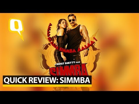Quick Review: Simmba | The Quint