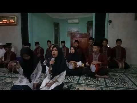 Penampilan Marawis Isra Mi'Raj Remaja Islam Musholla Baiturrabbi