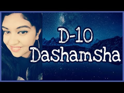 D-10Dashamsha Divisional Chart in Astrology | Actions , Success & Purpose