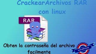 Obten la contraseña de tus archivos RAR en Linux