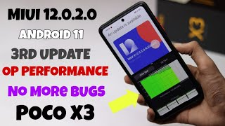Full Review - Miui 12.0.2.0 Android 11 Update Poco X3 ⚡⚡ Antutu Benchmark Test & Op Performance