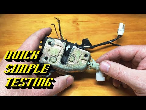 Ford Quick Tips #76: Door Ajar Switch Testing and Replacement