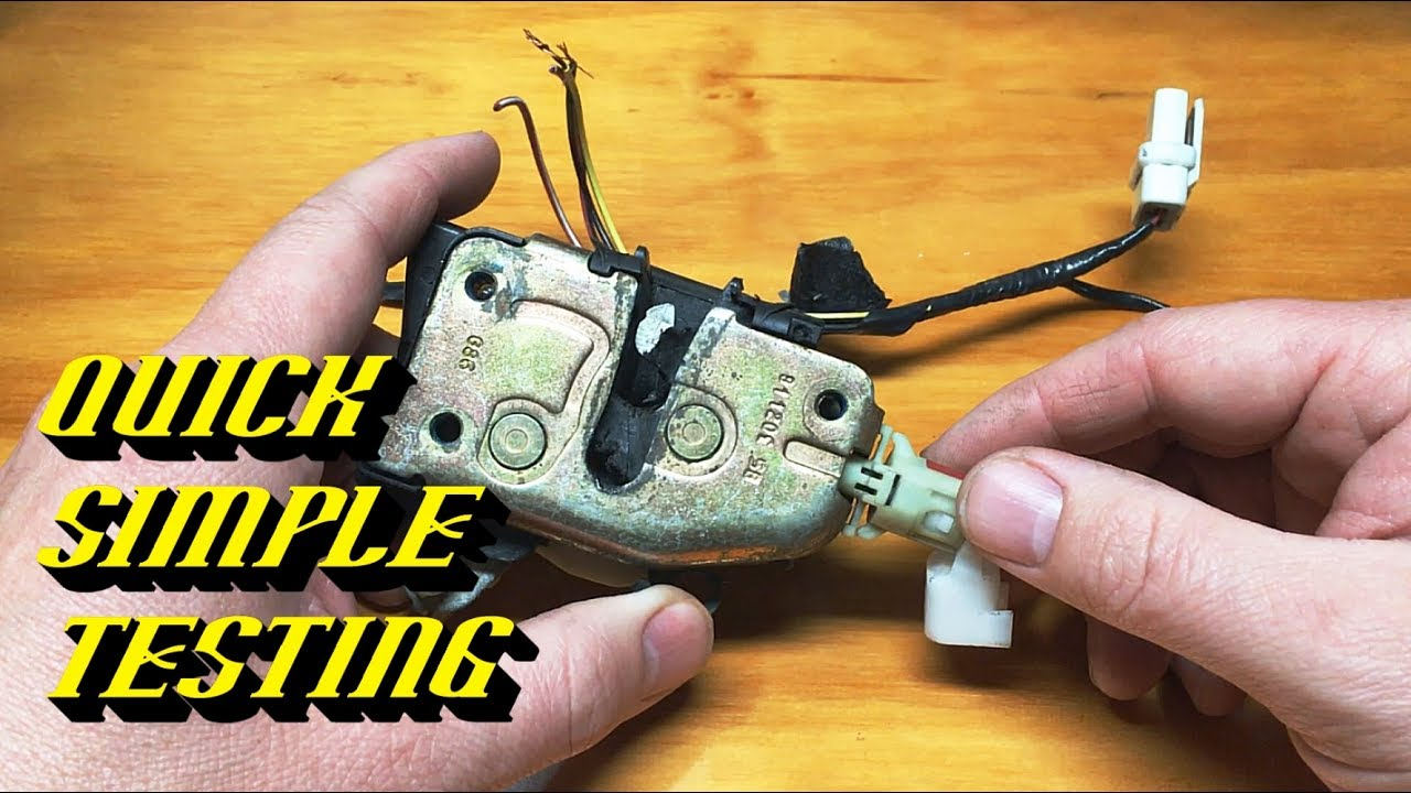 Ford Quick Tips #76: Door Ajar Switch Testing and Replacement  YouTube