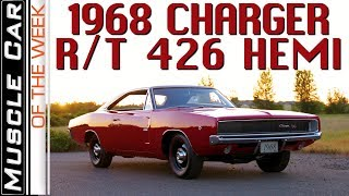 1968 Dodge Charger R/T 426 Hemi Muscle Car Of The Week Episode 296