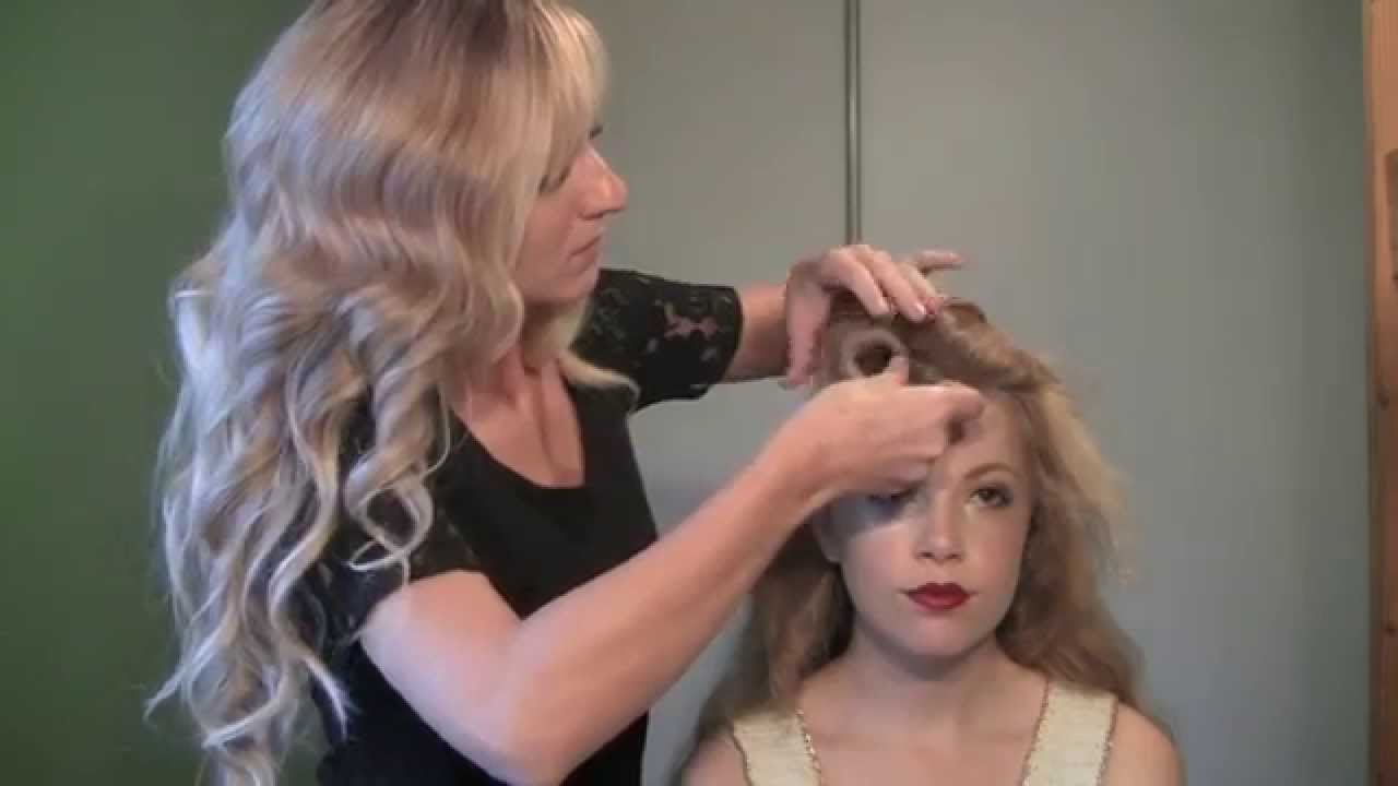 Classic Vintage Faux RollerSet Hairstyle YouTube - Classic vintage hairstyle