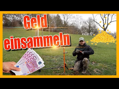 Geld einsammeln mit dem MX7 - German Treasure Hunter Episode 1.1 2018