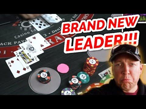 🔥 NEW LEADER 🔥 12 Minute Blackjack Stimulus Challenge - WIN BIG Or BUST #4