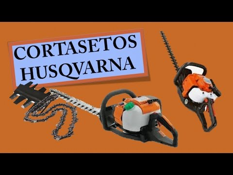 Cortasetos Husqvarna
