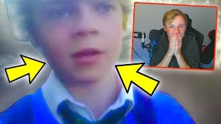 REACTING TO MY FIRST YOUTUBE VIDEOS!!! *DELETED*