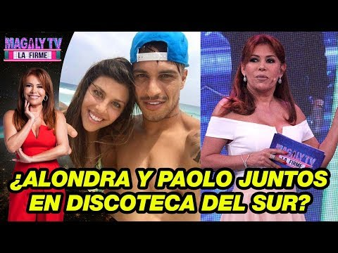 ¿Alondra García Miro fue vista en una discoteca del sur en el box de Paolo Guerrero?
