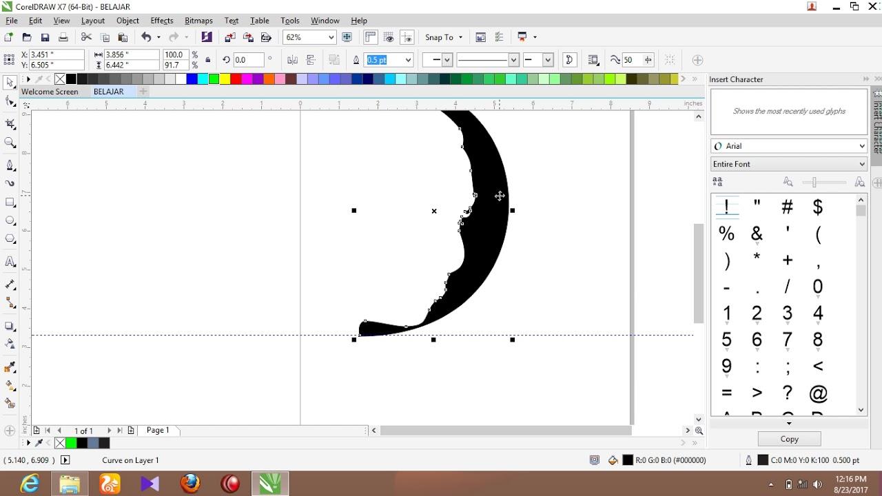 15 Trend Terbaru Cara Membuat Gambar Sketsa Di Coreldraw