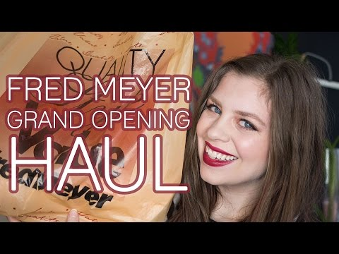 Fred Meyer Bellevue Grand Opening HAUL + Giveaway!