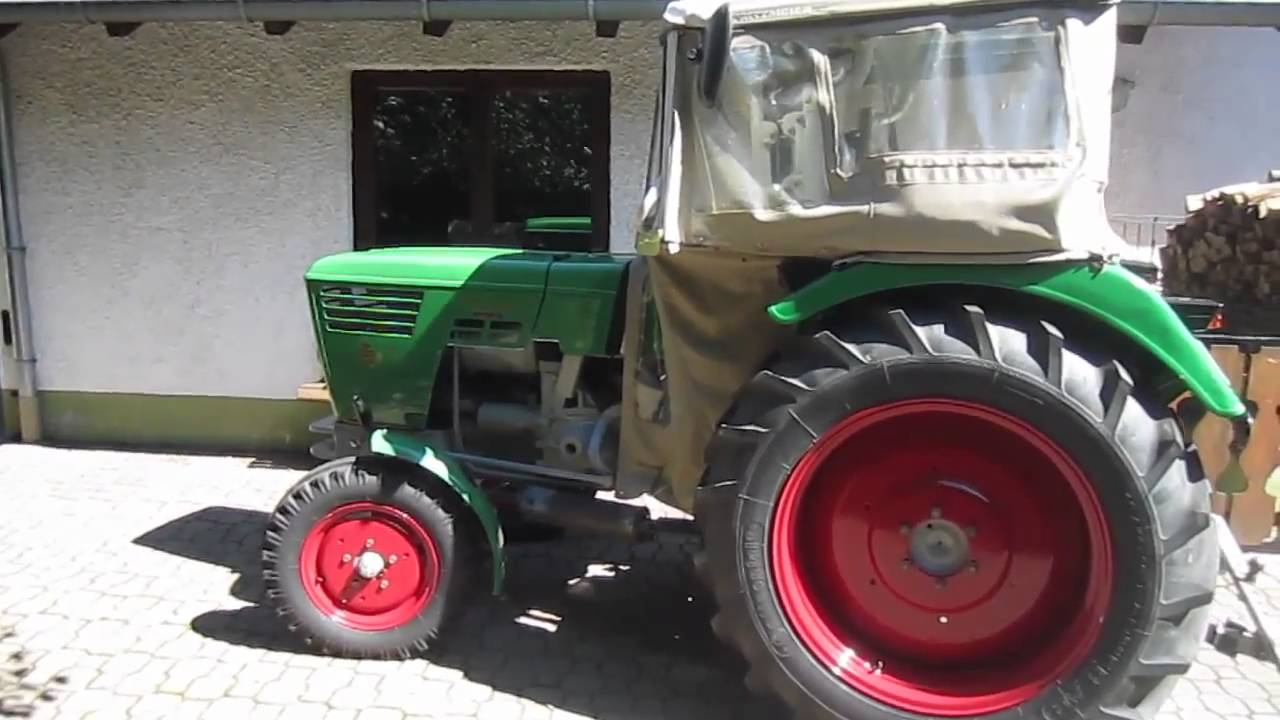 Deutz d traktor youtube