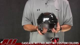 Cascade M11 Hockey Helmet (Custom Colors)