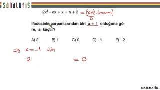 Fem ygs 2 soru çözümleri matematik soru 16
