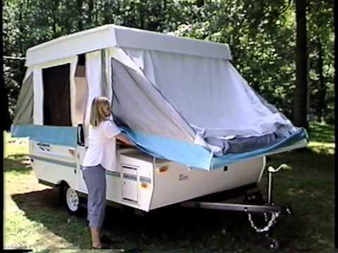Rockwood Pop Up Camper Instructional Video Youtube