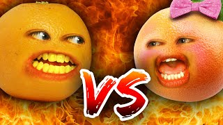 The Annoying Orange - Bro vs Sis Challenge!