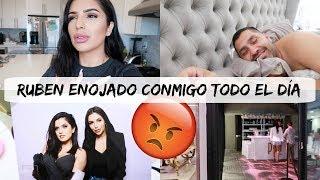 RUBEN ENOJADO CONMIGO TODO EL DÍA😡MIS POROS HAN MEJORADO 🙃 LLEGARON LOS TACONES 👠- Vlogs diaios
