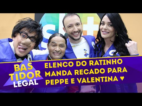Elenco do Ratinho manda recado para Valentina Francavilla e Peppe! | Bastidor Legal (09/09/2018)