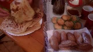 تعلم طبخ الماكولات الجزائرية المسمن على طريقة # ام بشرى # سهل و ناجح
