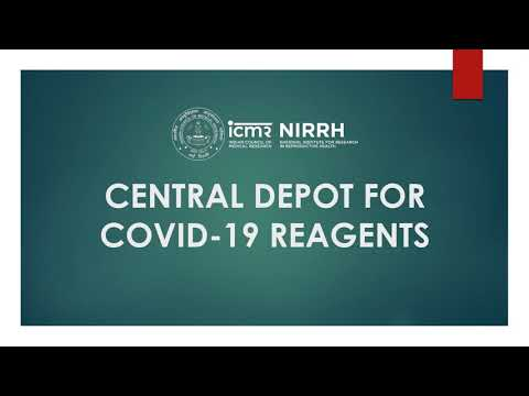 ICMR-NIRRH, Mumbai Central Depot for COVID-19 Reagents