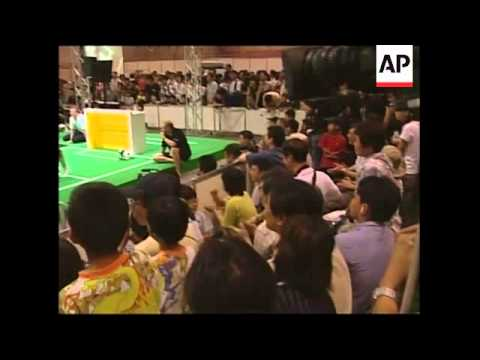 Ninth Annual RoboCup Soccer Competition