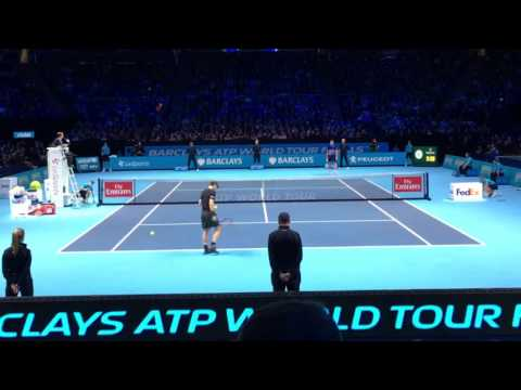 ATP World Tour Finals 2016 SF - Andy Murray Vs Milos Raonic