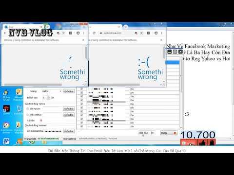 Hotmail Account Creator 2019 – Tool Tạo Tài Khoản Email Hàng Loạt – Creator Yahoo And hotmail bot