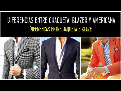 Y Chaqueta Diferencias La Entre Masculina Moda Blazer nIqwOYn1