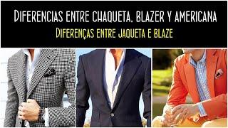 MODA HOMBRE 2018: Diferencias entre la chaqueta, la blazer y la americana by piccomunoz.com