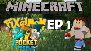 Minecraft Charmander I Choose You Pixelmon Episode 1 Vloggest