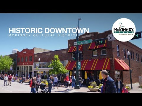 Historic Downtown McKinney Cultural District