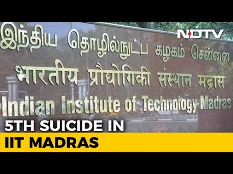IIT Madras Student Found Dead In Her Hostel Room, Police Suspect Suicide