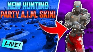 Nouvelle peau A.I.M. Hunting Party! - Fortnite Battle Royale Saison 6