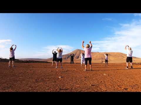Sunrise Volcanoes Hiking & Tai Chi - Qigong Practice On Your Retreat